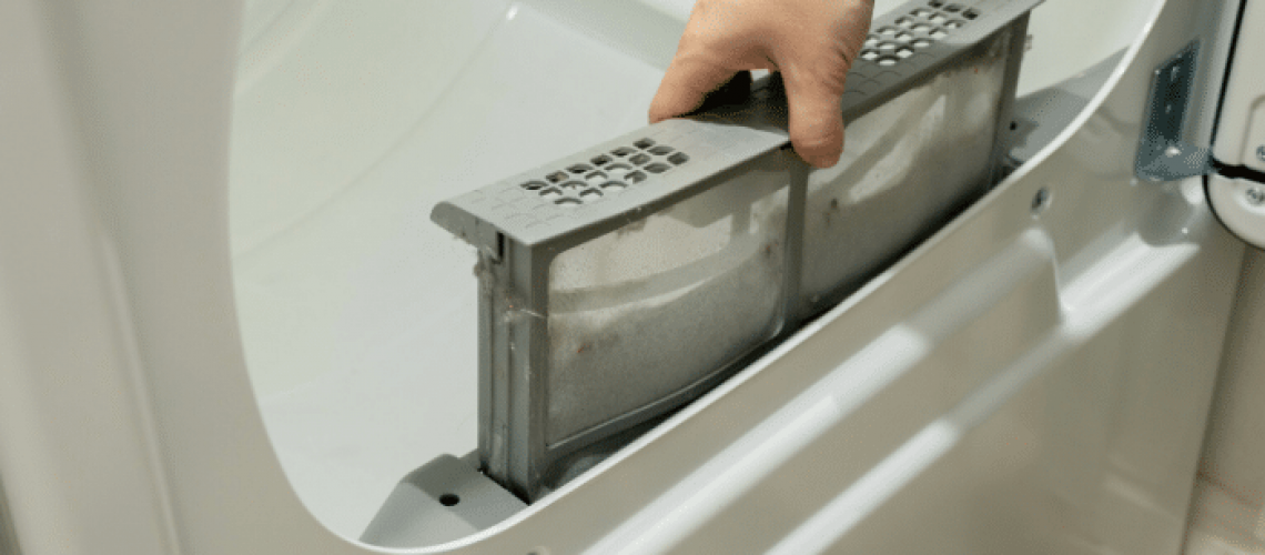Change Your Dryer Filter Often To Prevent Fires